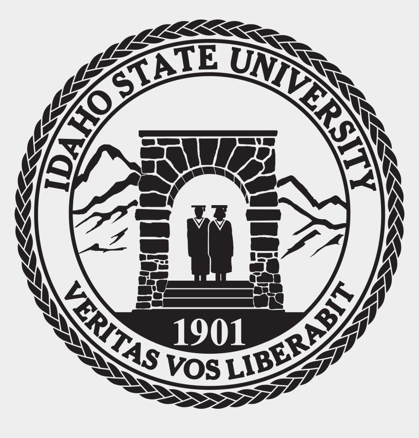 idaho black and white clipart, Cartoons - Idaho State University Seal