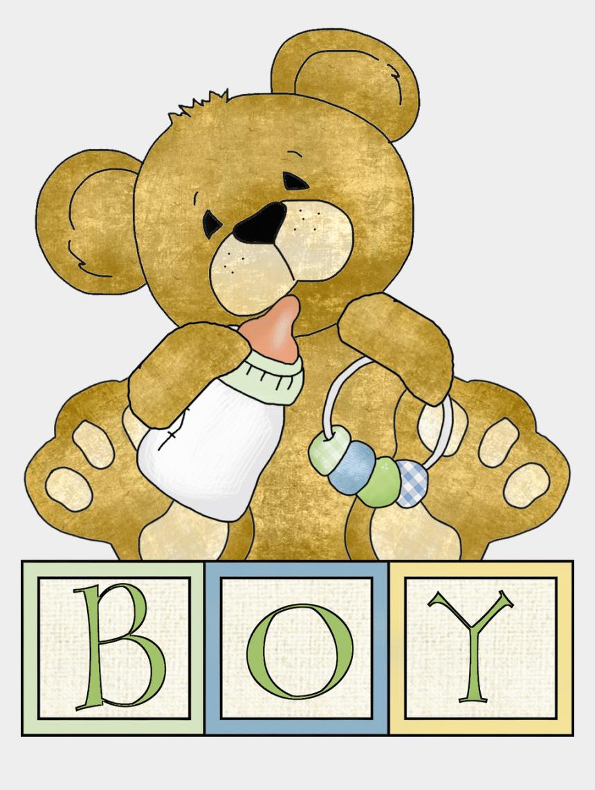baby grow clipart, Cartoons - Baby Teddy Bear Clip Art For Boy