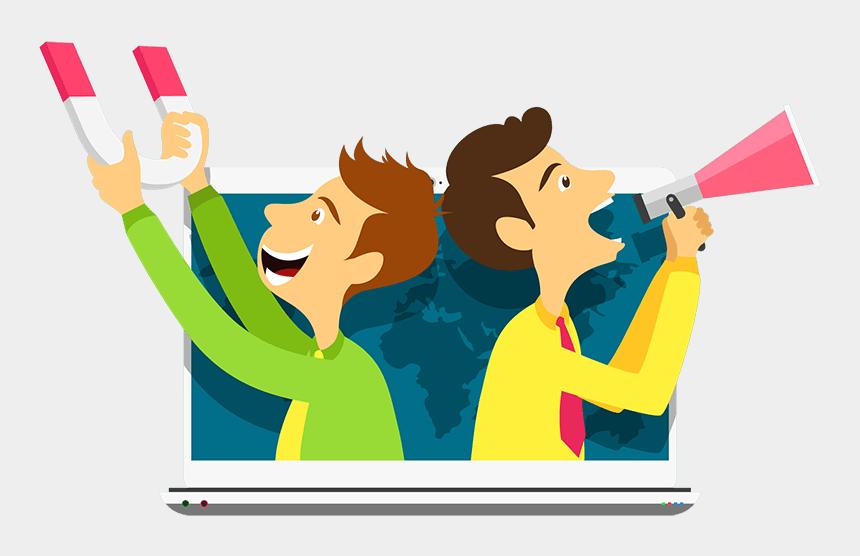 digital india clipart, Cartoons - Marketing Clipart India Digital - Lead Generation Png