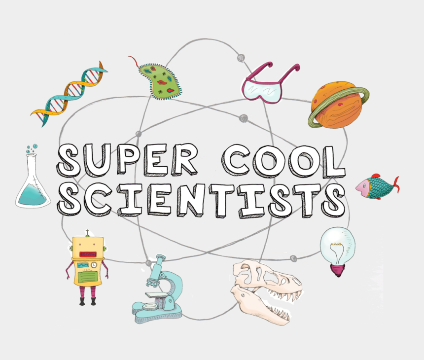science technology engineering math clipart, Cartoons - The Super Cool Scientists Books Each Feature 22 Profiles - Super Cool Scientist Coloring