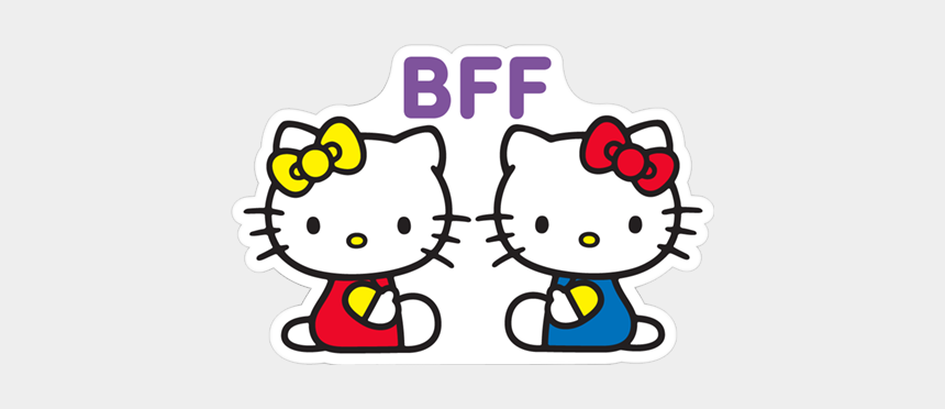 bff clipart, Cartoons - #bff #bestie #hellokitty #hellokittybff #friends #sanrio - Hello Kitty Wallpaper Icon