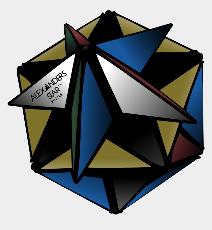 rubix cube clipart, Cartoons - Alexander's Star - Star Shaped Rubik's Cube
