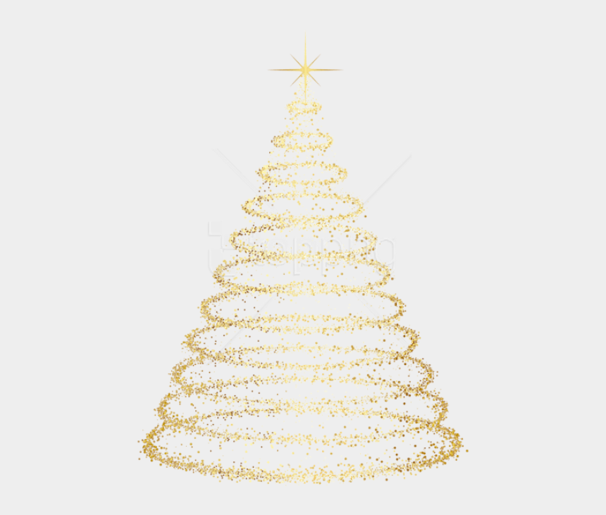 christmas decorating clipart, Cartoons - Christmas Cliparts Transparent Gold - Transparent Background Christmas Tree Png