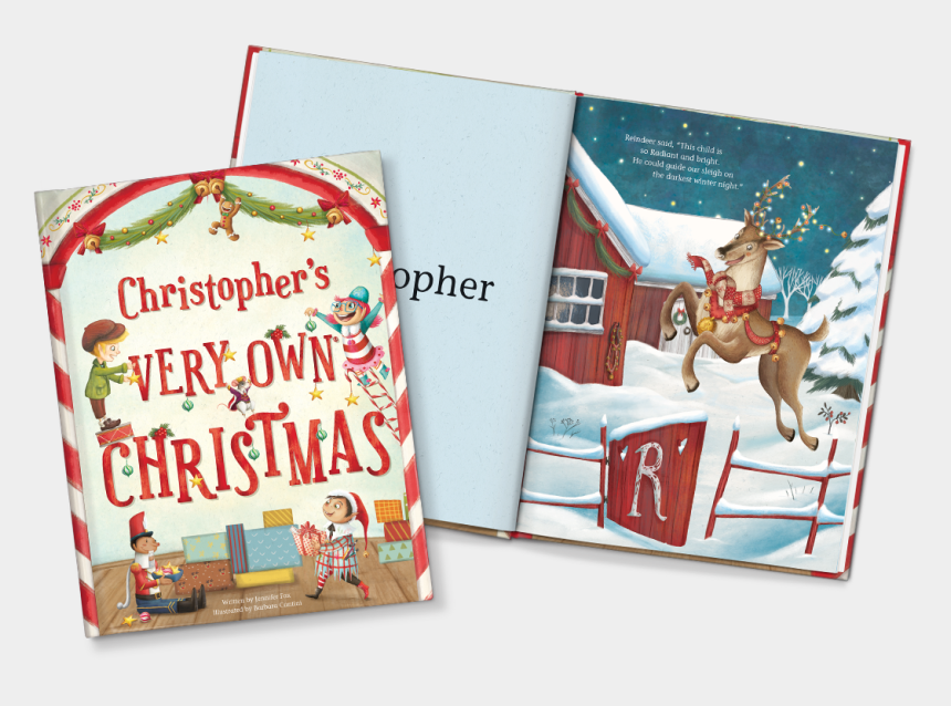 twas the night before christmas clipart, Cartoons - My Very Own Christmas Book - Personalized Xmas Books For Children