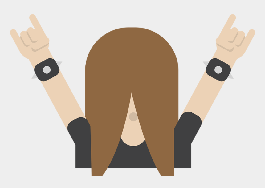 Download - Finland Headbanger Emoji, Cliparts & Cartoons