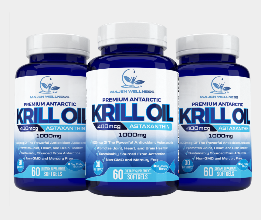 krill clipart, Cartoons - Plant Based Dha Supplement - Chemical Solvent Krill Oil No