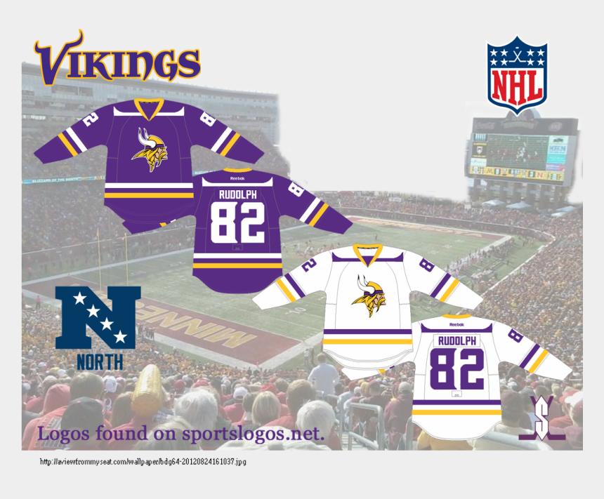 minnesota vikings clipart, Cartoons - Minnesota Vikings Hockey Jersey