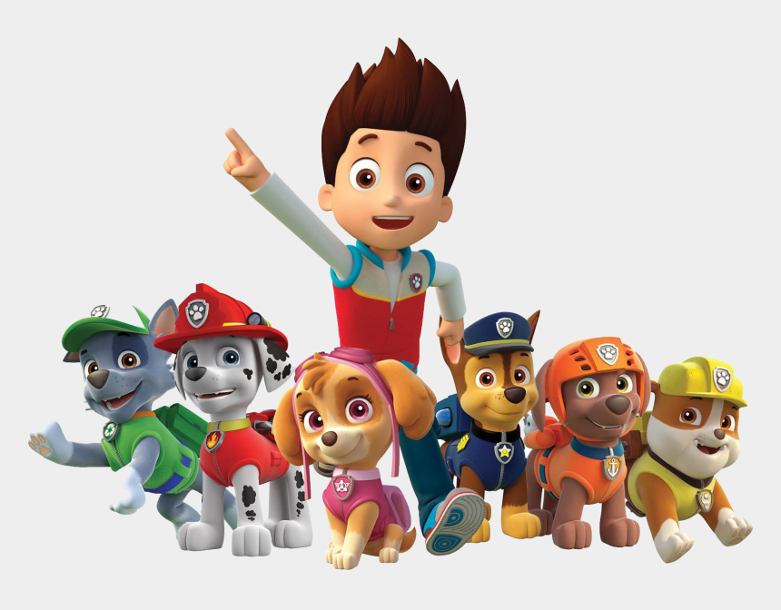 main character clipart, Cartoons - Paw Patrol Background Png - Paw Patrol