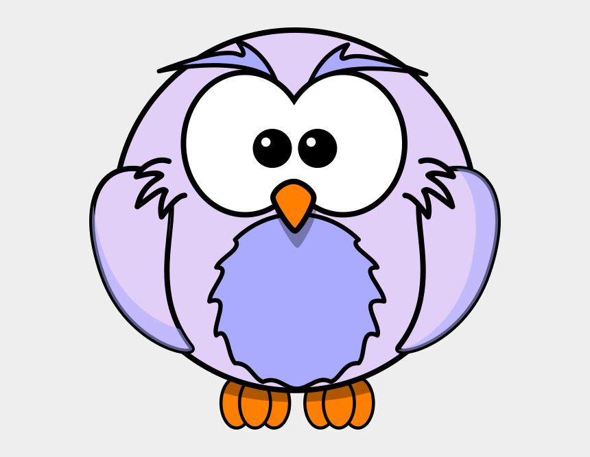 forrest clipart, Cartoons - Light Purple Owl Cartoon Clip Art - Owl Coloring Pages
