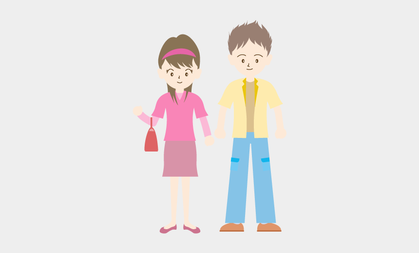 dating clipart, Cartoons - Dating / Young Couple - イラスト