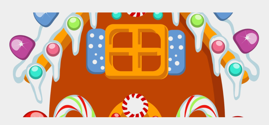 Christmas Candyland Clipart.Candyland House Clipart Gingerbread House Cartoon