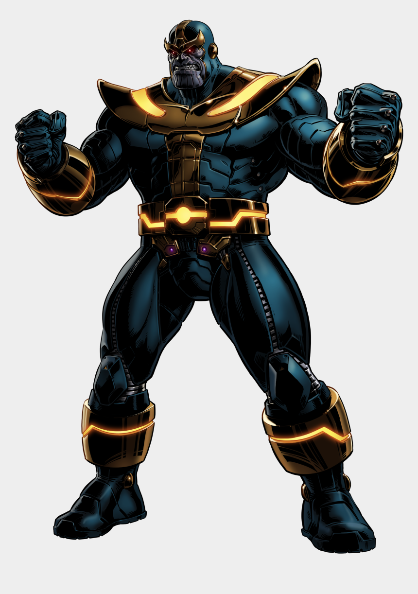 villain clipart, Cartoons - Marvel Villain Png - Thanos Marvel Avengers Alliance