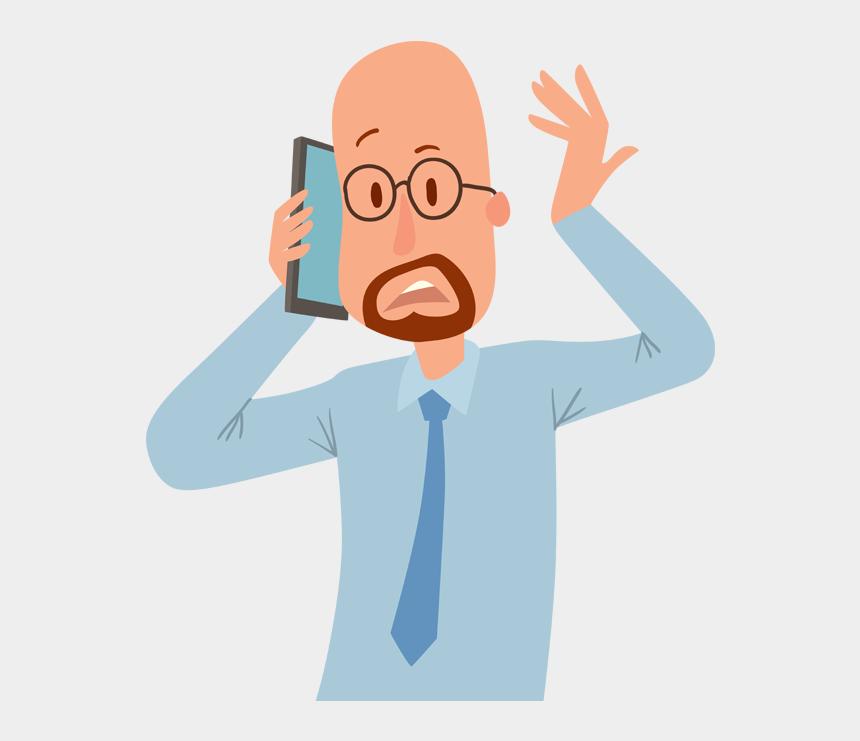 customers clipart, Cartoons - People Talking On Phone