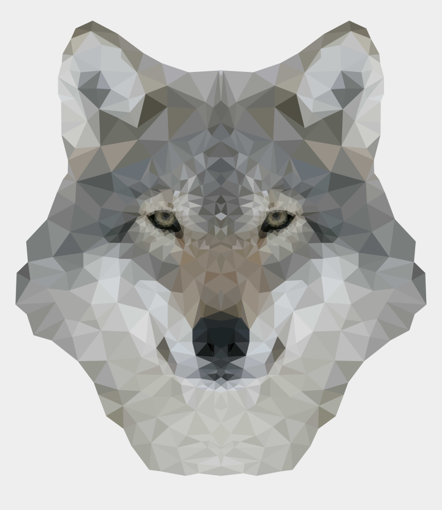 dog clipart transparent, Cartoons - Wild Dog Clipart Transparent - High Resolution Wolf Face Hd