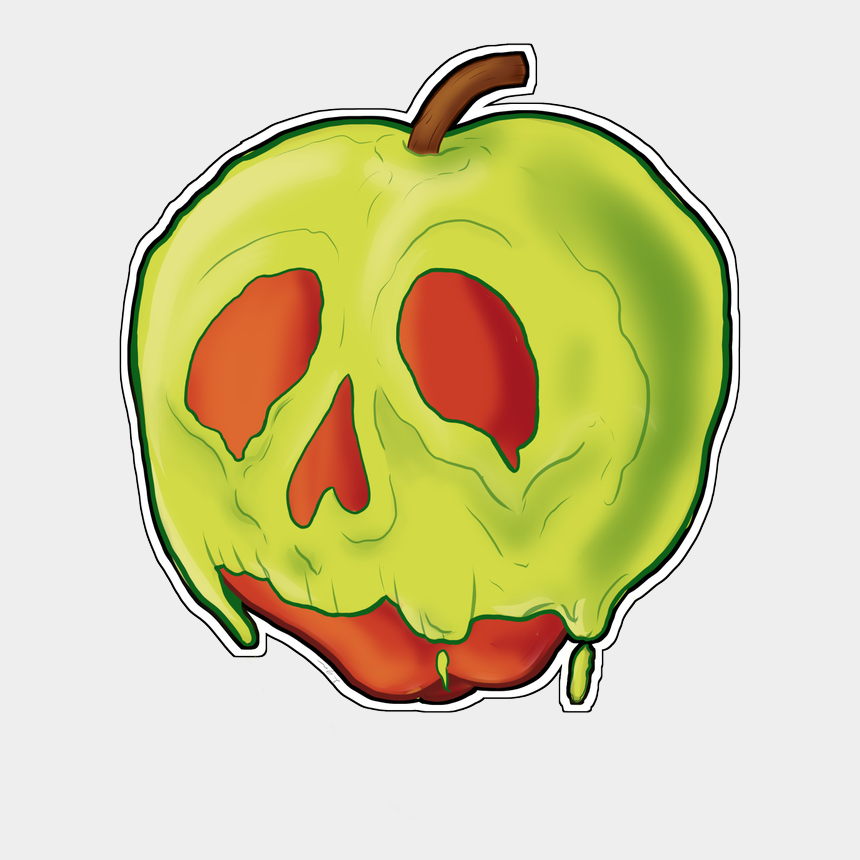 basket of apples clipart, Cartoons - #apple #poisonapple #art Just A Quick Draw Of The Poison