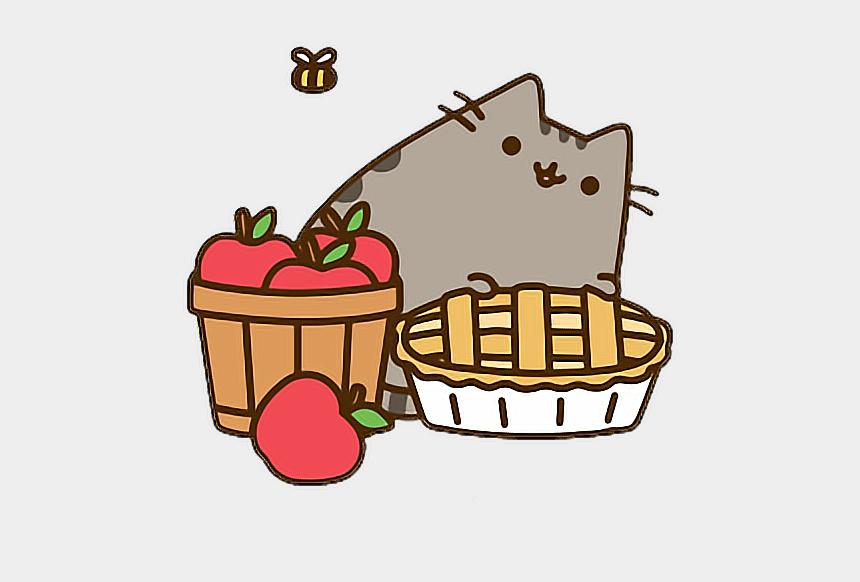 basket of apples clipart, Cartoons - Com Pusheen Pusheenthecat Pusheen - Pusheen Apple Pie