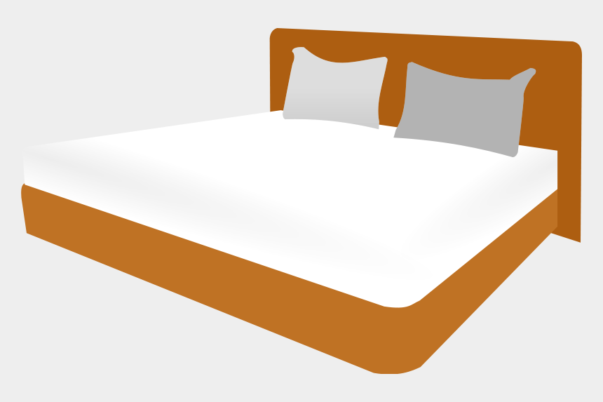 making the bed clipart, Cartoons - Clipart Of Prevention, Beds And Hostel - Bed Frame