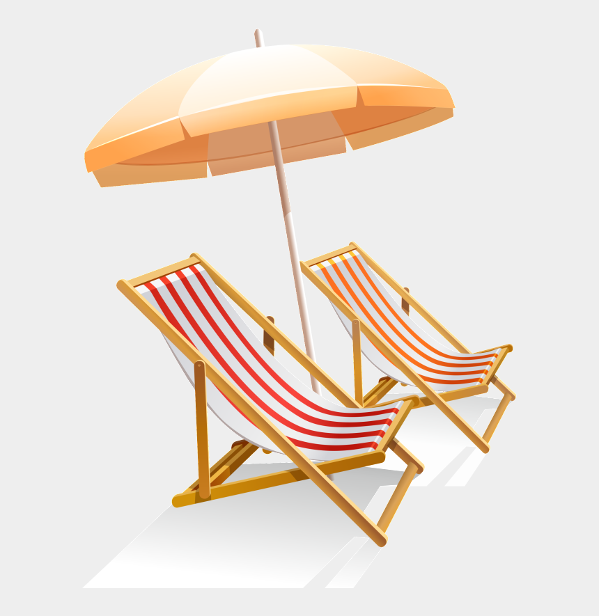 beach chair clipart black and white, Cartoons - Available In Png Format - Beach Chair And Umbrella Png