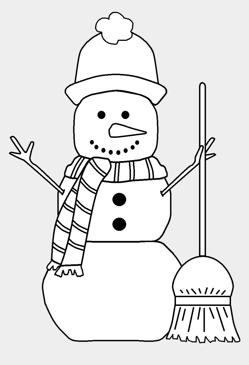 snowman face clipart black and white, Cartoons - Background Courtesy Of - Snow Man Clip Art Black And White