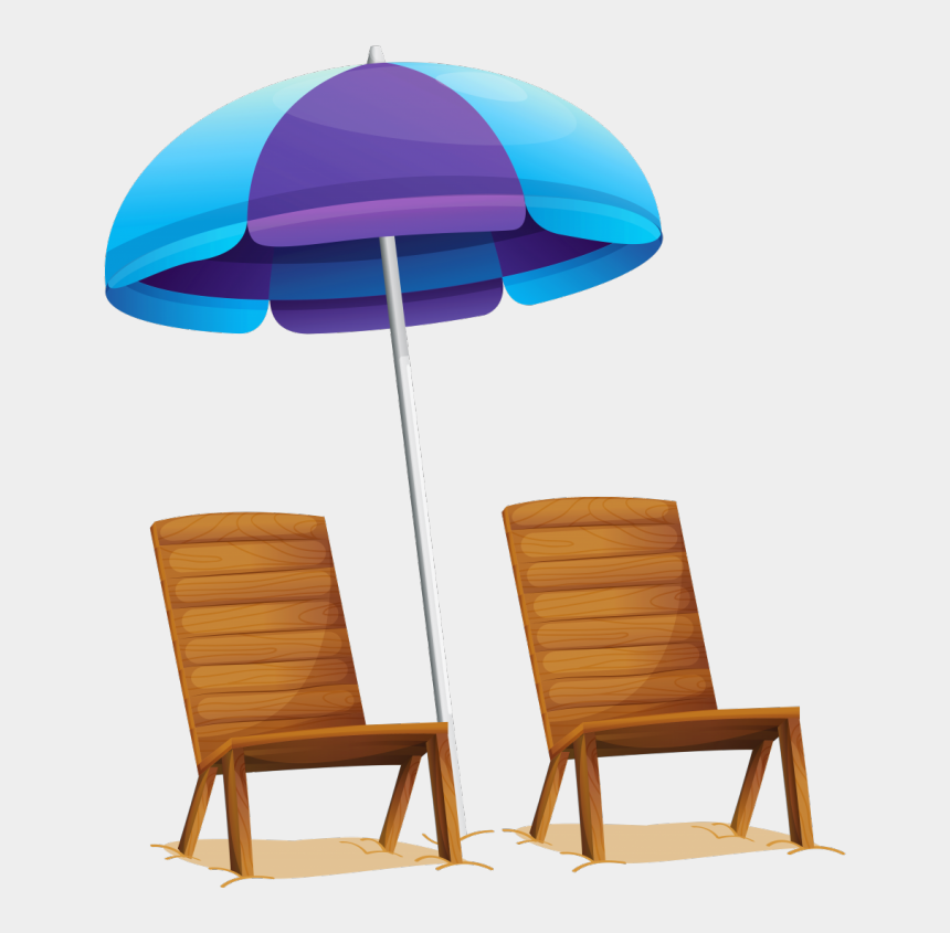 beach chair clipart black and white, Cartoons - Furniture Chairs Beautiful Vacation Pencil And In Ⓒ - Transparent Beach Chair Clipart Png