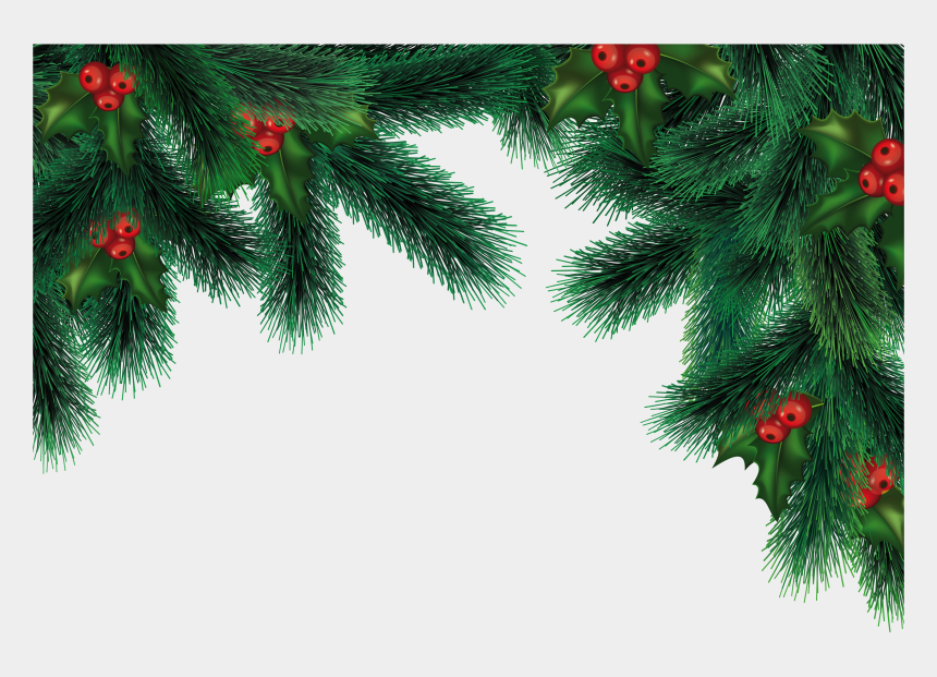 Abstract Colorful Xmas Tree On White Background Vector