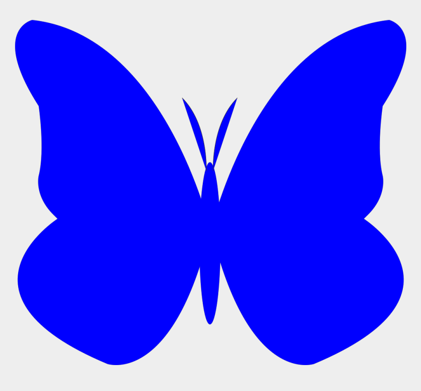 bright clipart, Cartoons - Bright Butterfly Svg Clip Arts 600 X 533 Px - Butterfly Clip Art Blue