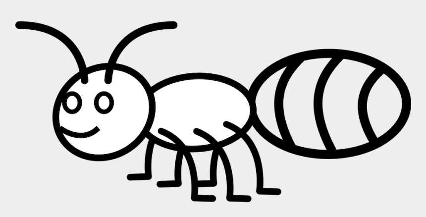 hardworking clipart, Cartoons - Ant, Insect, Pismire, Emmet - Line Drawing Of Ant