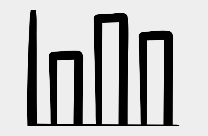 Bar Chart Icon Black And White Clipart - Bar Chart Icon - Free Transparent  PNG Clipart Images Download