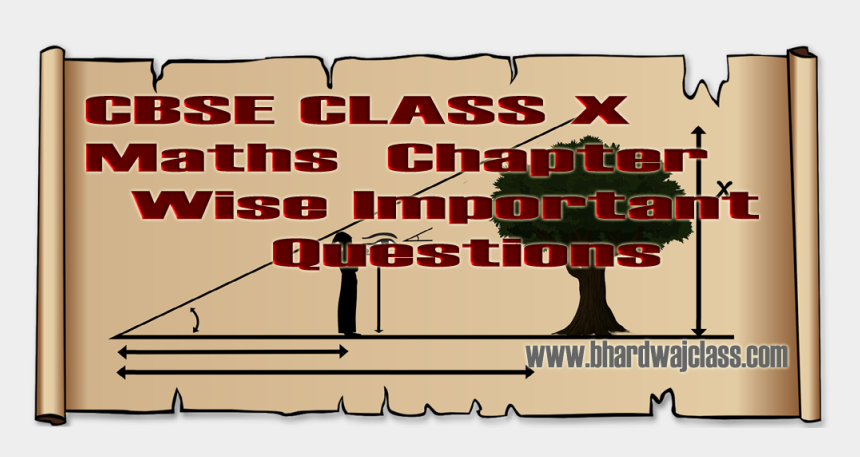 note taking clipart, Cartoons - Cbse Maths Questions Of All Chapters Bhardwaj Ⓒ - Poster