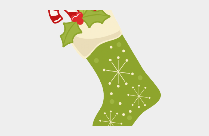 stockings clipart, Cartoons - Cute Christmas Stocking Clipart