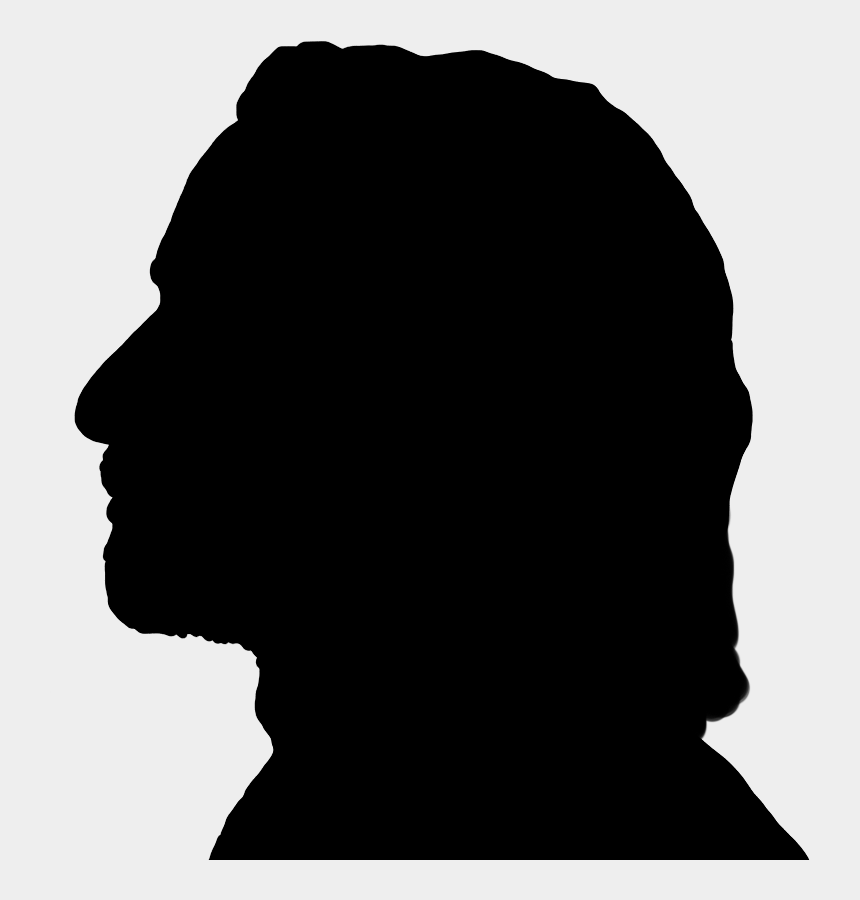 wisemen clipart, Cartoons - Face Silhouettes Of Men, Women And Children - Silhouette Of A Mans Face