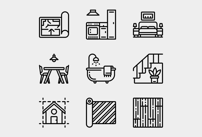 interior design clipart, Cartoons - Interior Design - Free Icons Work