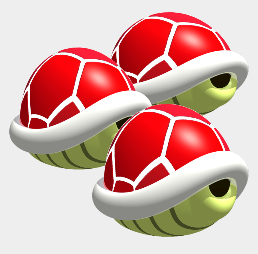 shell clip art, Cartoons - Shell Clipart Red Shell - Mario Kart 64 Shell