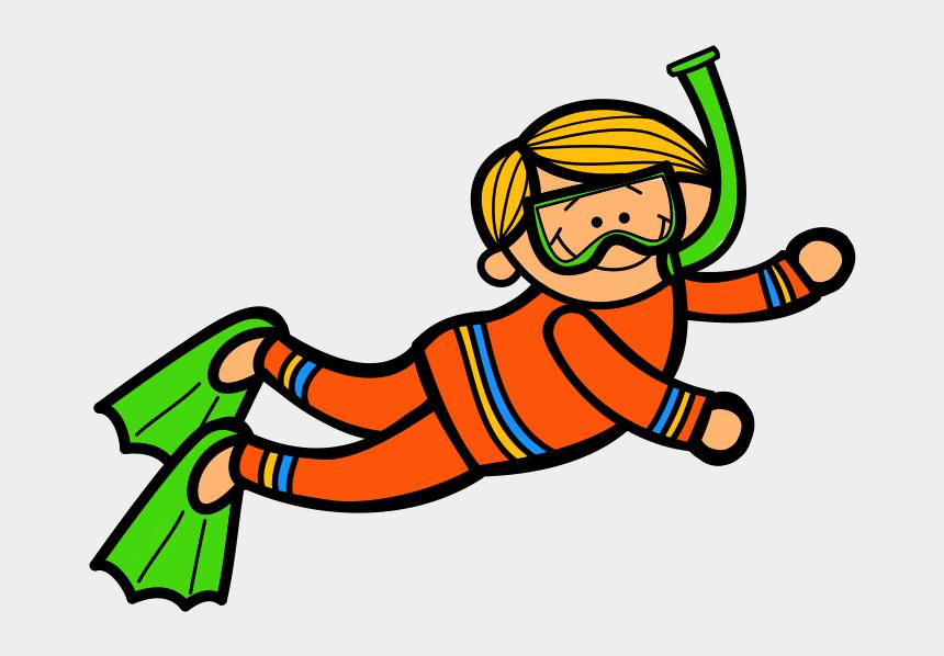 learning clip art, Cartoons - Scuba Diver Clip Art Cliparts - Kid Scuba Diver Clipart