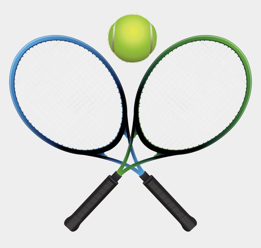 tennis ball clipart, Cartoons - Tennis Rackets And Ball Png Clipart - Clip Art Tennis Transparent