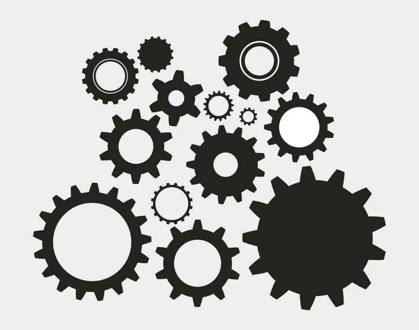 gear clip art, Cartoons - Gear Vector Png - Gears Vector