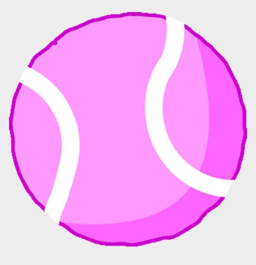 tennis ball clipart, Cartoons - Eraser Clipart Big Pink - Pink Tennisball Png