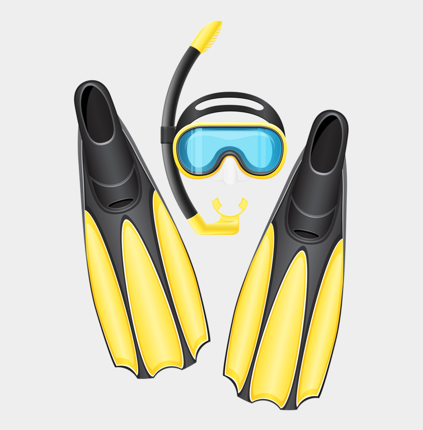 gear clip art, Cartoons - Фотки Scuba Gear Mask Flippers Sports Clips, Clipart - Diving Gear Clipart
