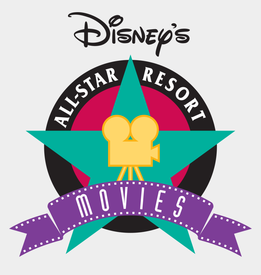 movies clipart, Cartoons - Disney's All-star Movies Resort - Disney All Star Movies Resort Logo