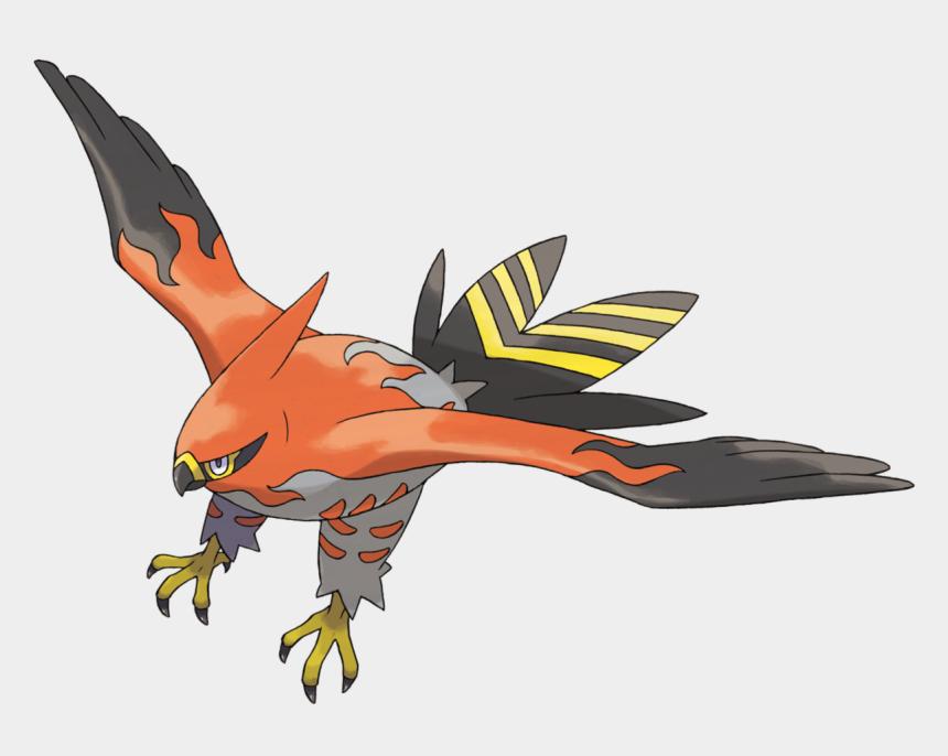 falcon clipart, Cartoons - Peregrine Falcon Clipart Talon - Pokemon Talonflame