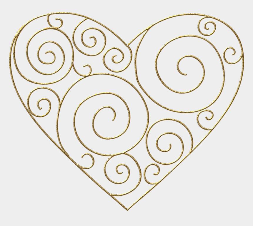 heartbeat clipart, Cartoons - Clip Arts Related To - Heart Art Nouveau Png