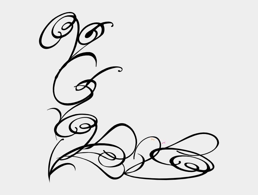 wedding clip art, Cartoons - Line Drawing Swirl Flower Pattern Vector Graphic Free - Swirl Flower Pattern Png