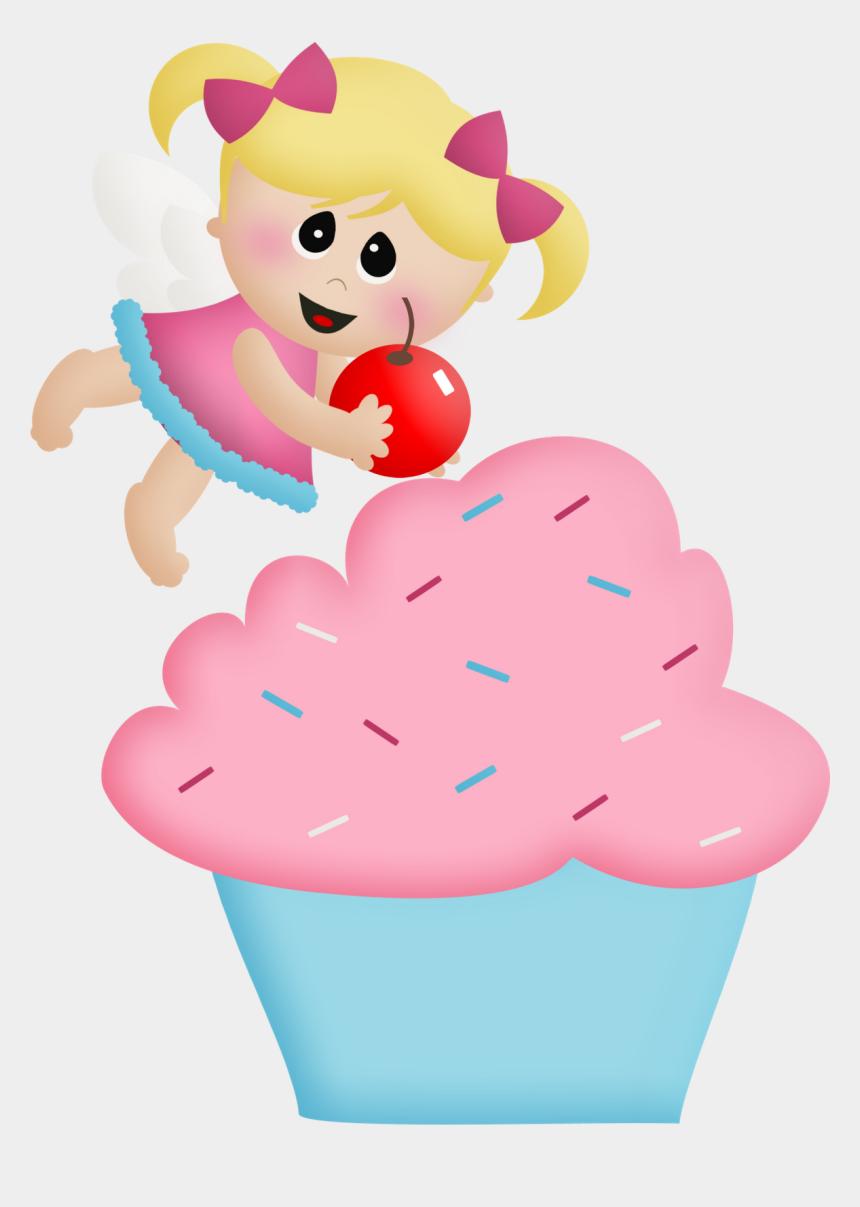 cupcake clip art, Cartoons - Birthday Cupcake Clip Art N18 - Cupcake