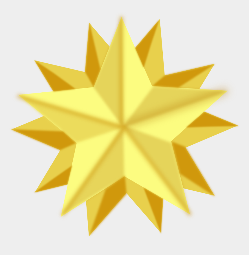 christmas star clip art, Cartoons - Clip Art Christmas Star Of Bethlehem Christmas Tree - Christmas Tree Star Vector Png