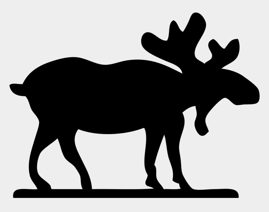 moose clip art, Cartoons - Moose Clip Art