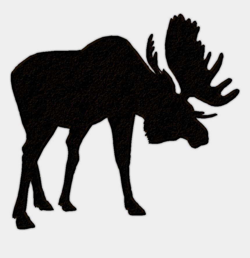 moose clip art, Cartoons - Moose Head Silhouette Clip Art Images Pictures - Moose Silhouette Transparent Background