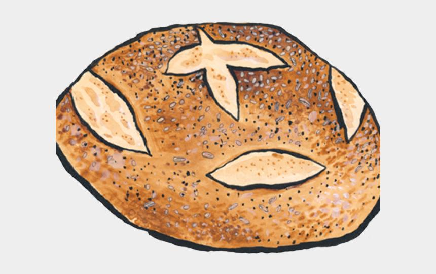 rock n roll clipart, Cartoons - Bread Clipart Bread Roll - Bread Clipart Illustration Transparent