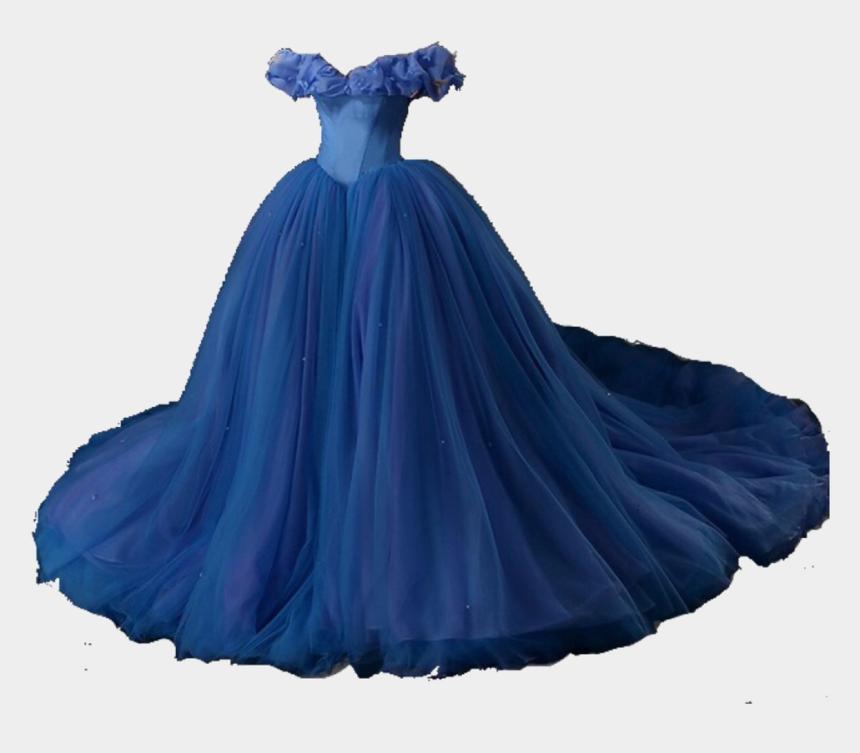 princess dress clipart, Cartoons - #blue #dress #queen #princess #cinderella #cute #aesthetic - Cinderella Dress Png