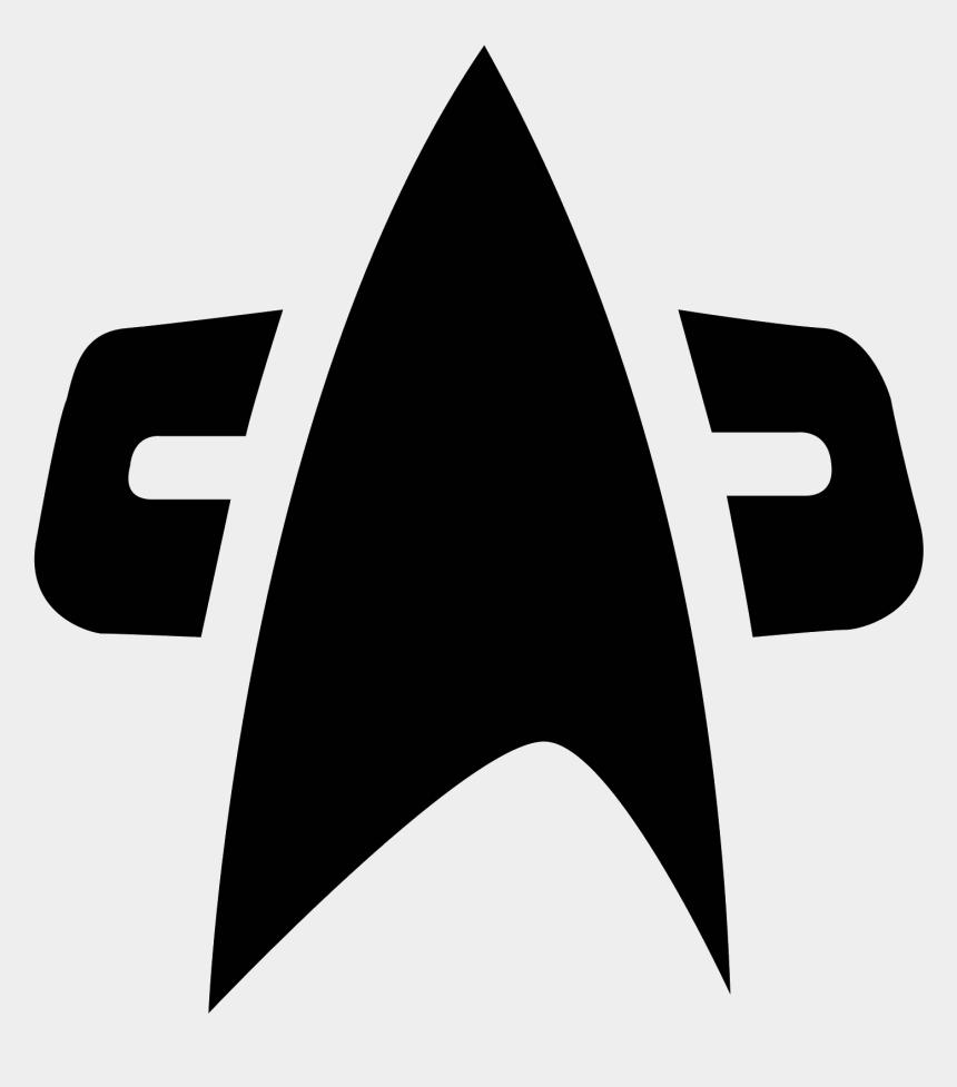 star trek clipart, Cartoons - Folder Icons Star Trek - Star Trek Voyager Badge