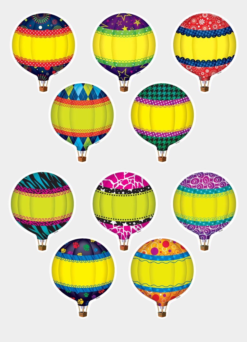 bulletin board clipart, Cartoons - Hot Air Balloons Accents Balloon And Ⓒ - Hot Air Balloon For Classrooms